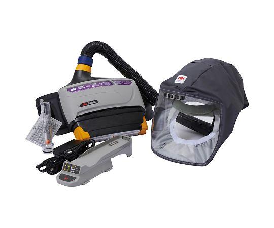 バーサフロー™電動ファン付き呼吸用保護具 隔離式ルーズフィット形(フェイスシールド、大風量形) TR-800-333J