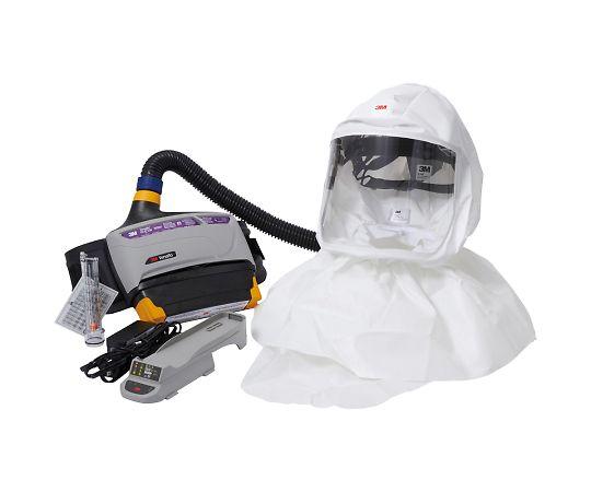 TR-800-657J バーサフロー™電動ファン付き呼吸用保護具 隔離式ルーズフィット形(フード、大風量形) TR-800-657J スリーエムジャパン(3M)