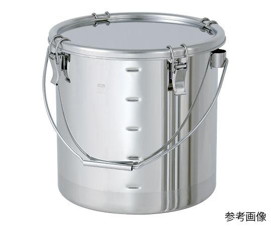 CTB-M-33 目盛付き汎用容器 クリップ式 25L CTB-M-33 日東金属工業