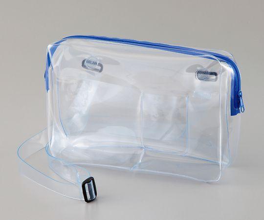 4-3064-01 透明ショルダーバッグ(帯電防止・無縫製) SD-SB アズワン(AS ONE)