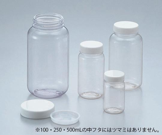 クリヤ広口瓶(透明エンビ製)