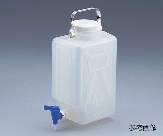 Nalgene 活栓付角型瓶2321 2/9 No.2321-0020 (2/9) ナルゲン(NALGENE)