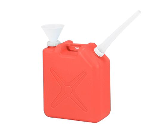 廃液回収容器 赤 20L(ロート付)