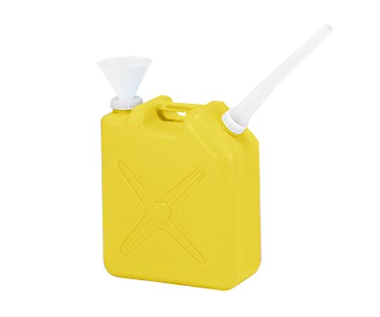 廃液回収容器黄色(専用ロート付き)