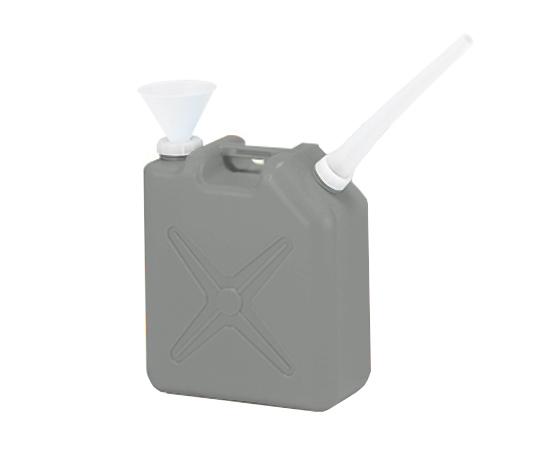 廃液回収容器グレー(専用ロート付き)