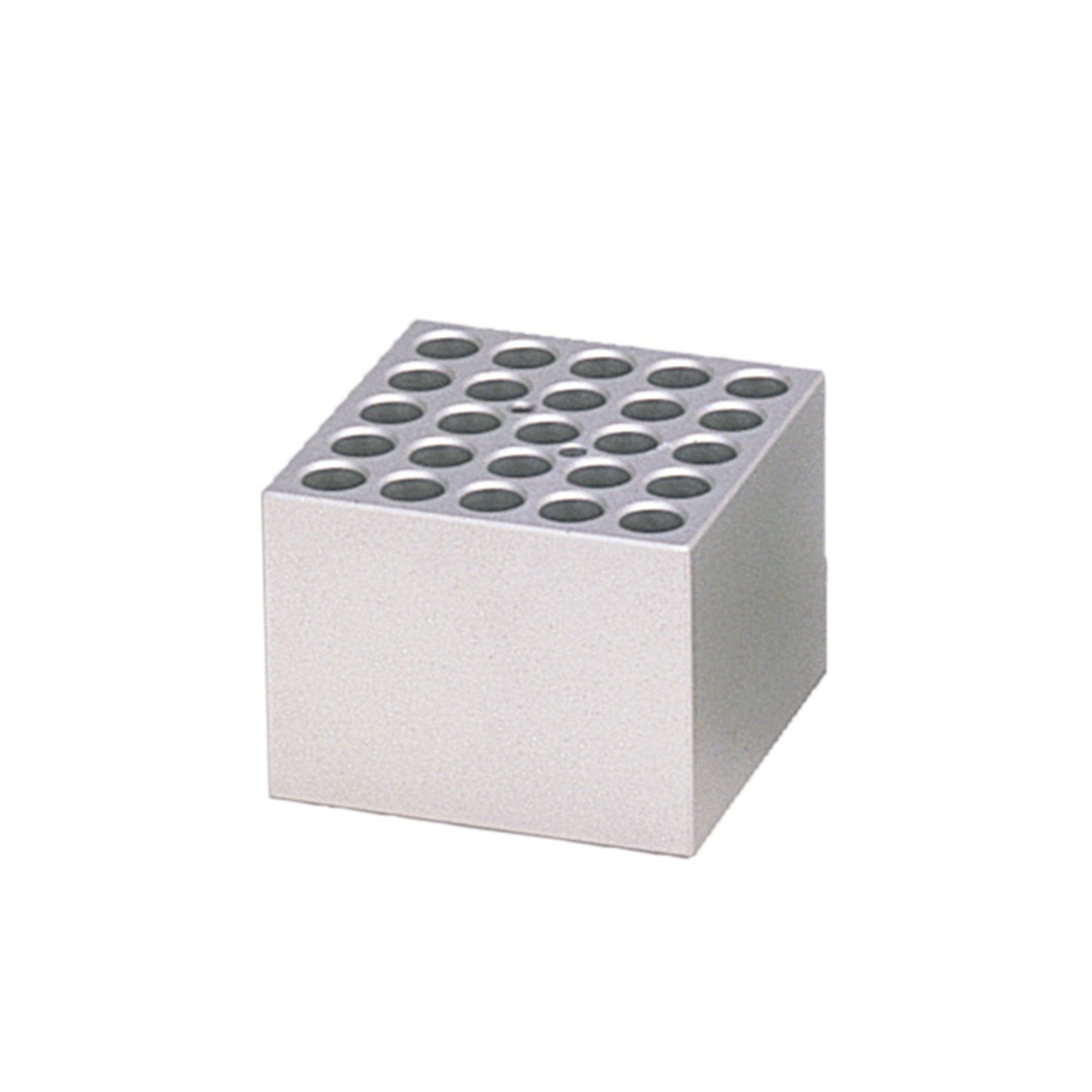 アルミブロック φ15mm用 25穴