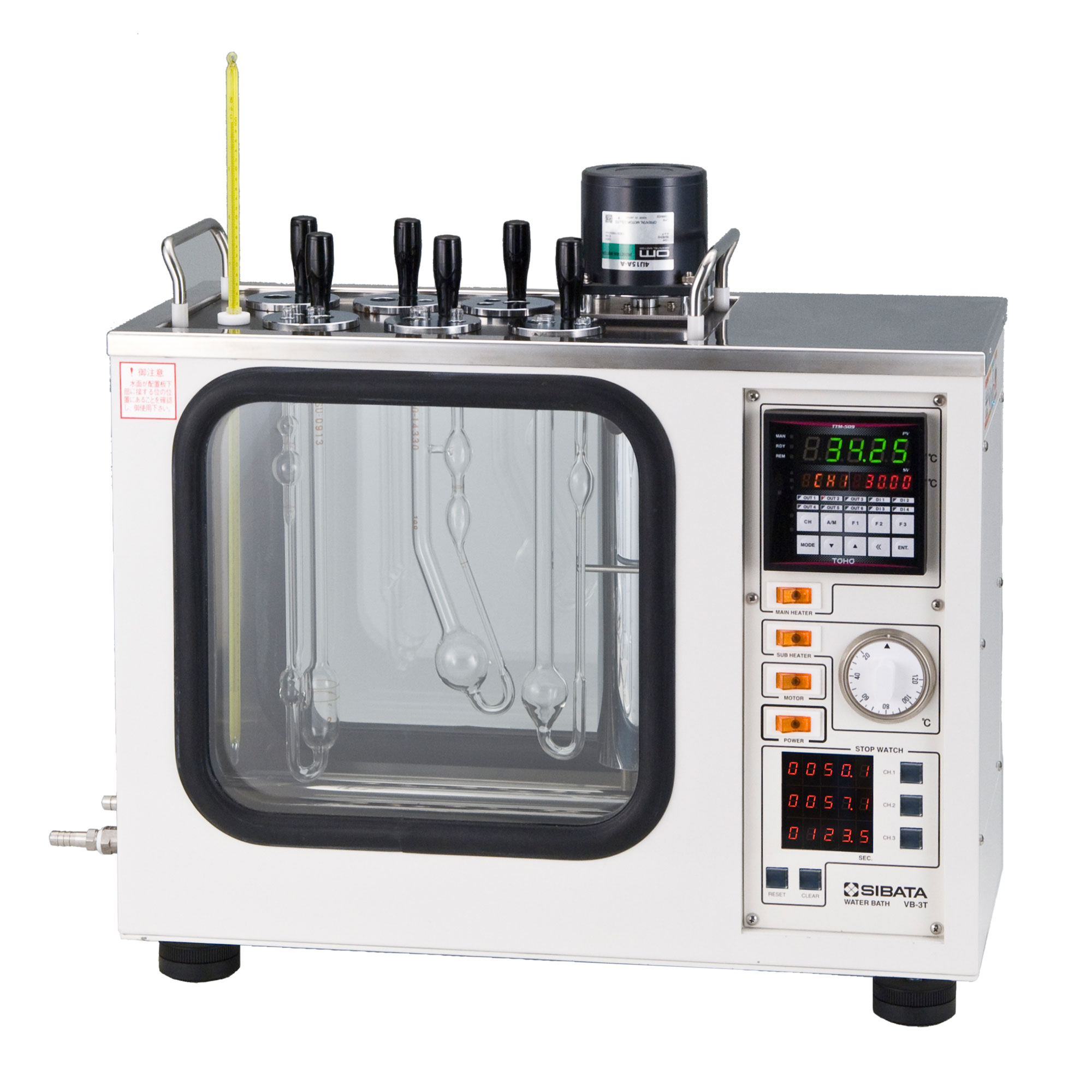 粘度計用恒温水槽 VB-3T