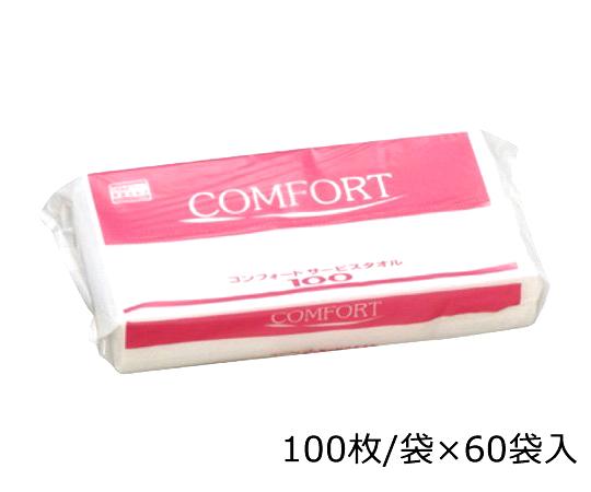 コンフォートペーパータオル 37115(100枚×60袋) 日本製紙クレシア