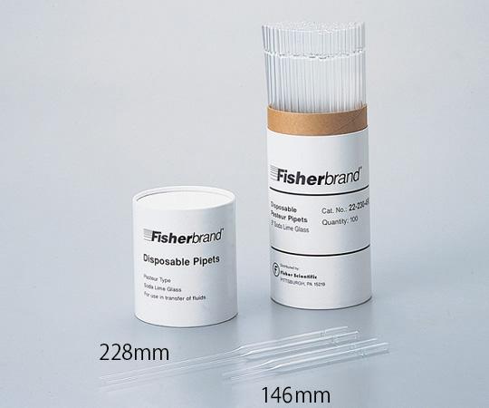 パスツールピペット No.22-230-482(100本×10箱) サーモフィッシャーサイエンティフィック(Thermo Fisher Scientific)