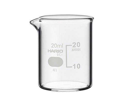 HARIO ビーカー 目安目盛付 20mL