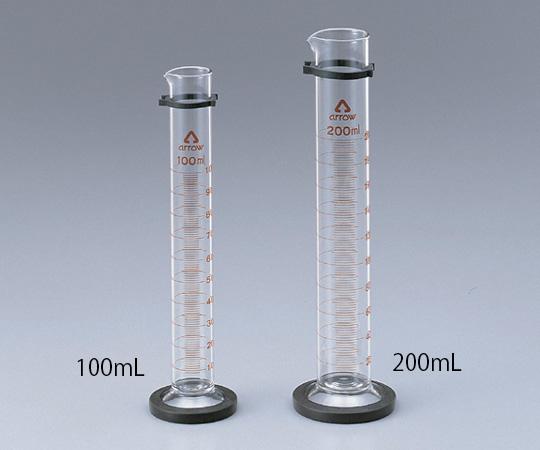 メスシリンダー(硬質ガラス)