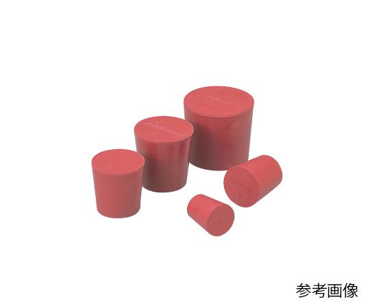 9-861-12 LABORAN 赤ゴム栓 12号(10+1個) アズワン(AS ONE)
