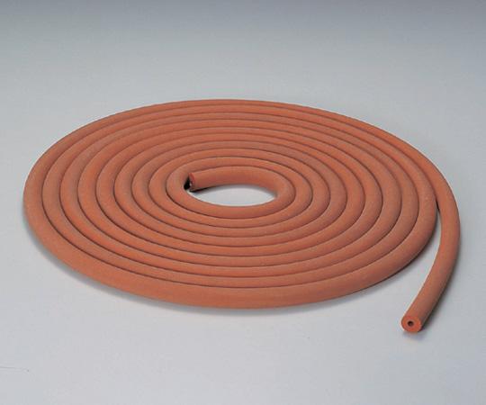 102-1820602 シリコン排気用ゴム管 6×18(1m) コクゴ(KOKUGO)