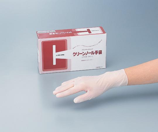 6-905-12 クリーンノール手袋(PVCパウダーフリー) M (100枚×10箱) アズワン(AS ONE)
