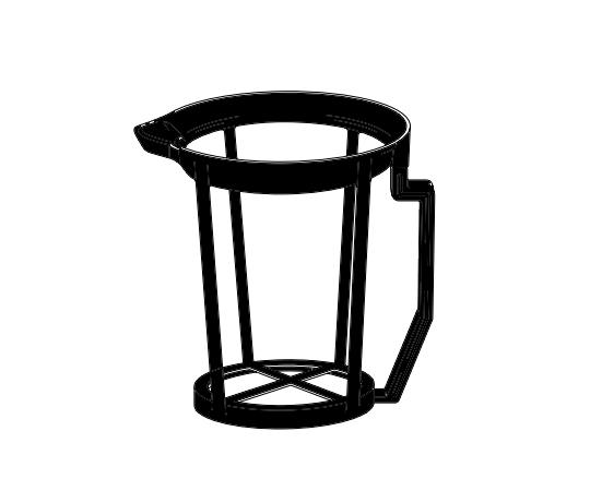 ディスポ手付ビーカー 1L用ホルダー(10個)