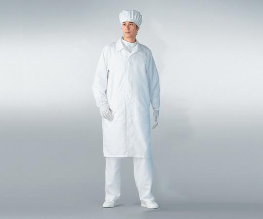 無塵衣男女兼用ホワイト 3L AS206C