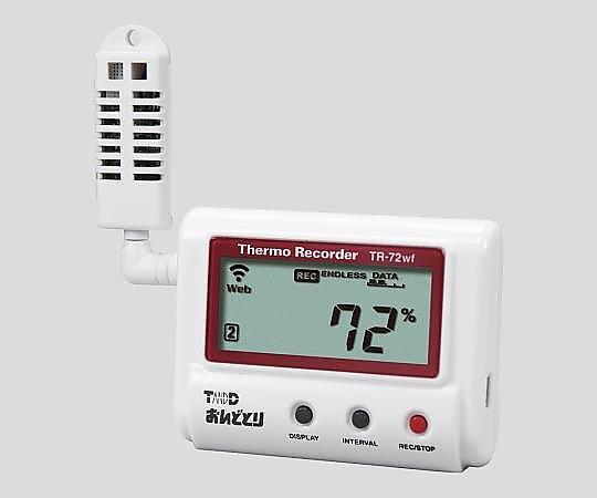 温度(湿度)記録計 TR-72wf