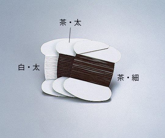 フッ素樹脂たこ糸 太 茶 2m巻