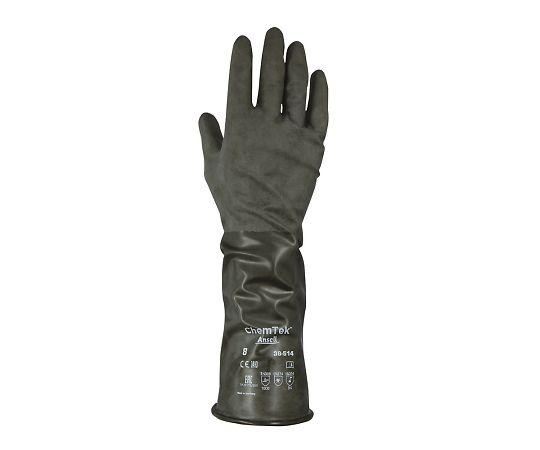 化学防護手袋(ブチルゴム) S 38-514 アンセル