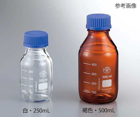 4-925-03 ネジ口メディウム瓶SCC 褐色 500mL 2070 M/500SCC アズワン(AS ONE)