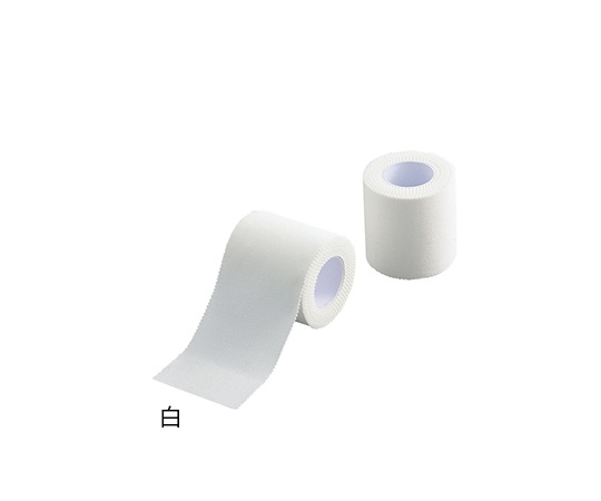 7-3612-01 プロシェアテーピングテープ(非伸縮固定テープ) 白 CT550W(6巻) アズワン(AS ONE)