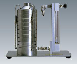 分粒部本体 AN-200型(8段)分粒部本体 流量計付