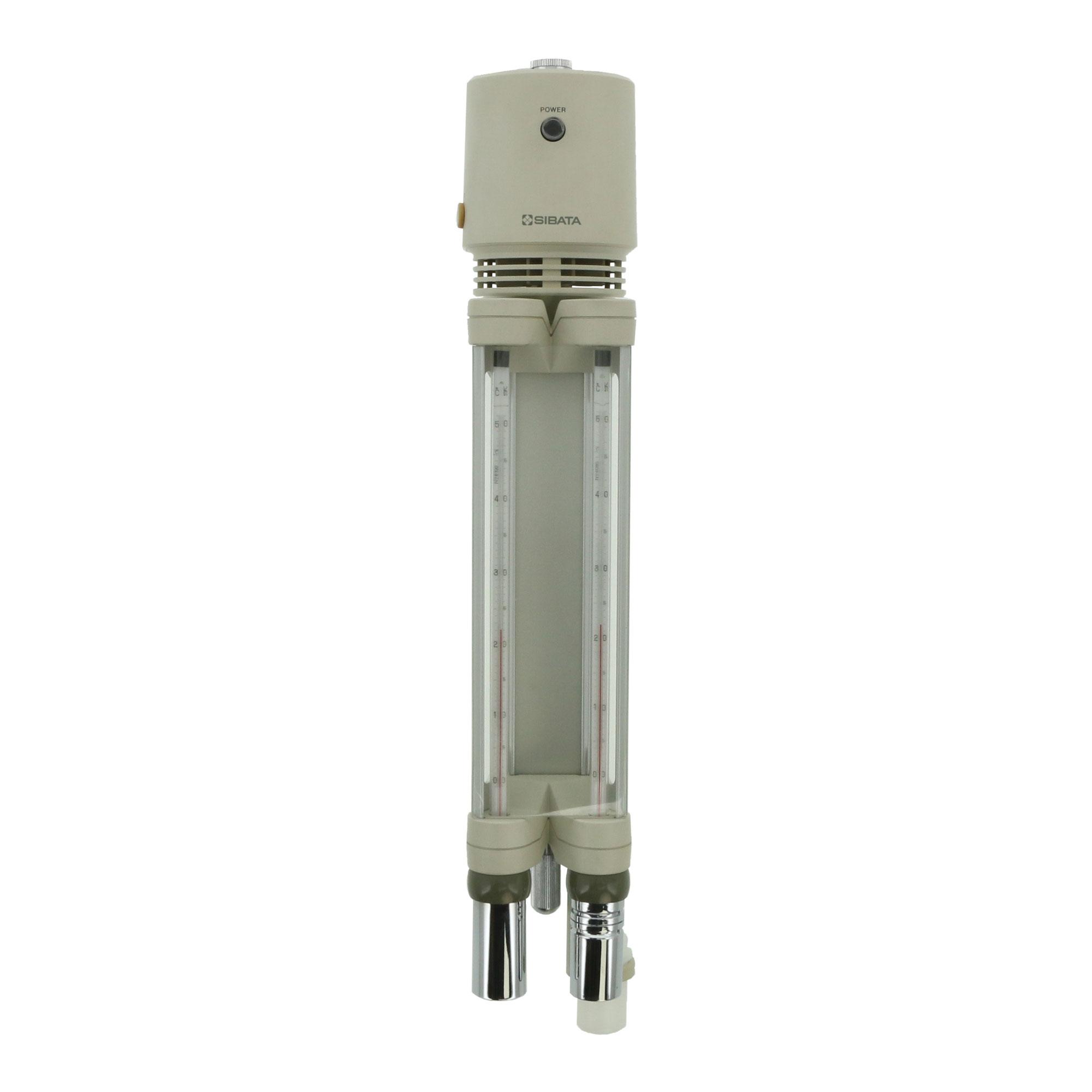 アスマン通風乾湿計 電動式 本体 RHG-1-AL型