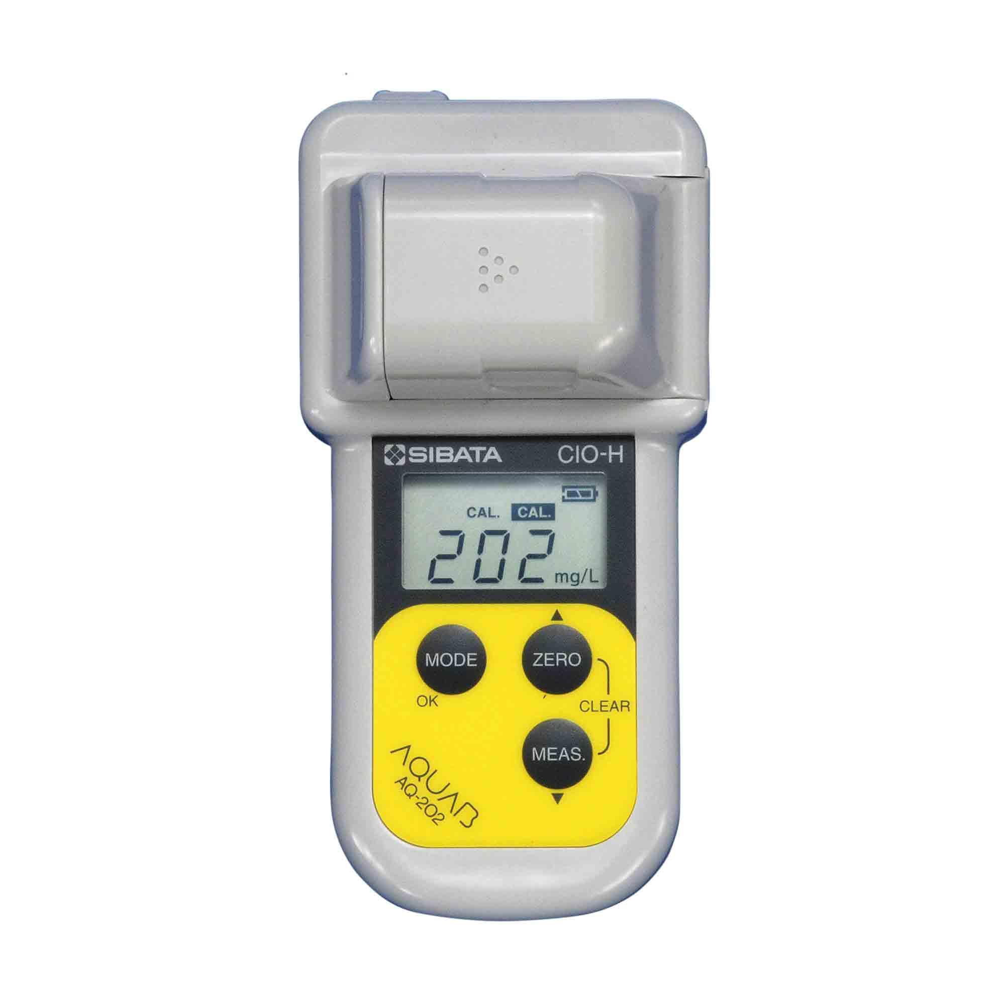 ハンディ水質計 アクアブ 残留塩素 高濃度 AQ-202