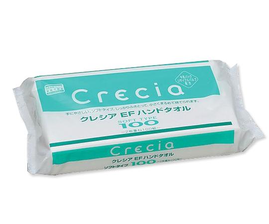EFハンドタオルソフト 37016B(100組) 日本製紙クレシア