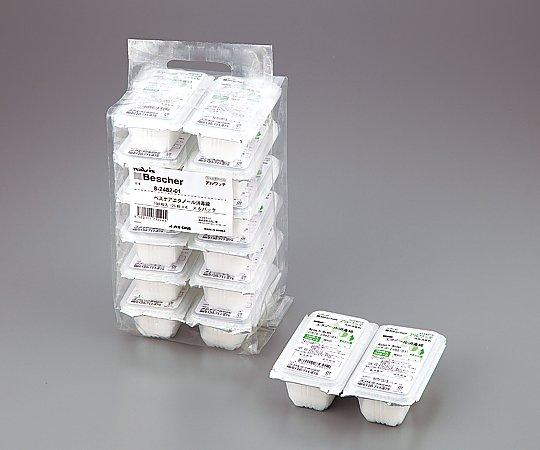 8-2482-51 ベスケアエタノール消毒綿 100-48P(100枚×48パック) アズワン(AS ONE)
