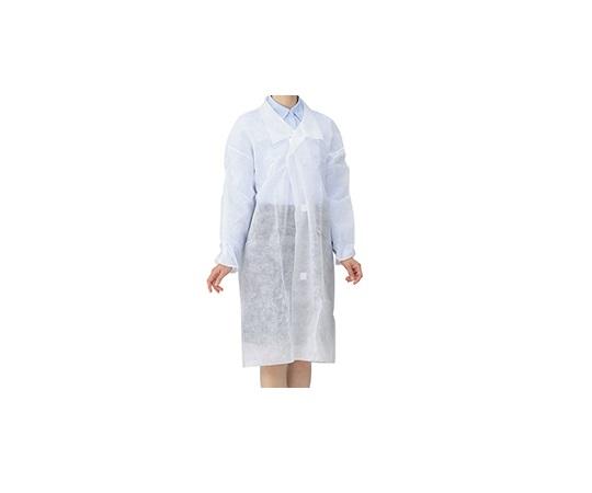 8-4055-01 ディスポ白衣 M アズワン(AS ONE)