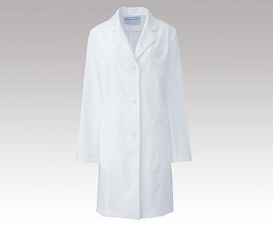 レディース診察衣 (ハーフ丈/S型) ホワイト/L REP210 C/10 KAZEN・アプロン