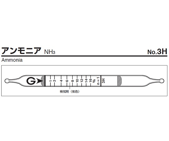 検知管 3H(10本)