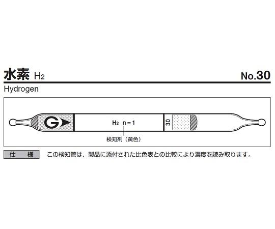 検知管 30(10本) ガステック(GASTEC)