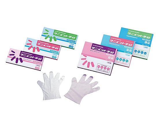 ラボランサニメント手袋(PE・厚手タイプ)