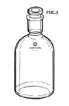 エーテル瓶 100mL 15/25 桐山製作所(KIRIYAMA) F13C-3-2