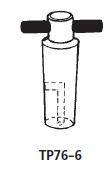 フッ素樹脂プラグ L型 TP76-6型 No.19 桐山製作所(KIRIYAMA)【Airis1.co.jp】