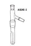 AB24E-2-1 水蒸気蒸留管 AB24E-2型 10mL 桐山製作所(KIRIYAMA)