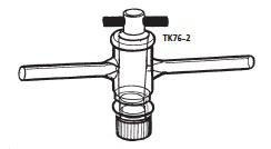 二方コック TK76-2型 φ8mm 桐山製作所(KIRIYAMA)【Airis1.co.jp】
