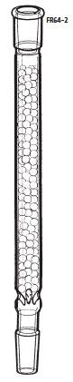 FR64-2-3 分留管 玉充てん型 FR64-2型 400mm 15/25 15/25 桐山製作所(KIRIYAMA)