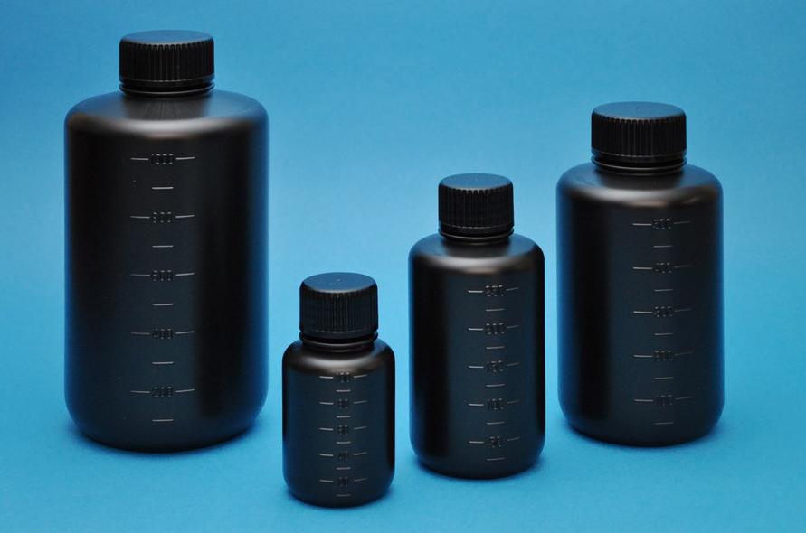 JK-ボトル 細口 遮光(黒) 100mL