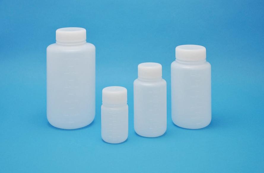 101-2020201 JK-ボトル 広口 白 100mL(200本) コクゴ(KOKUGO)