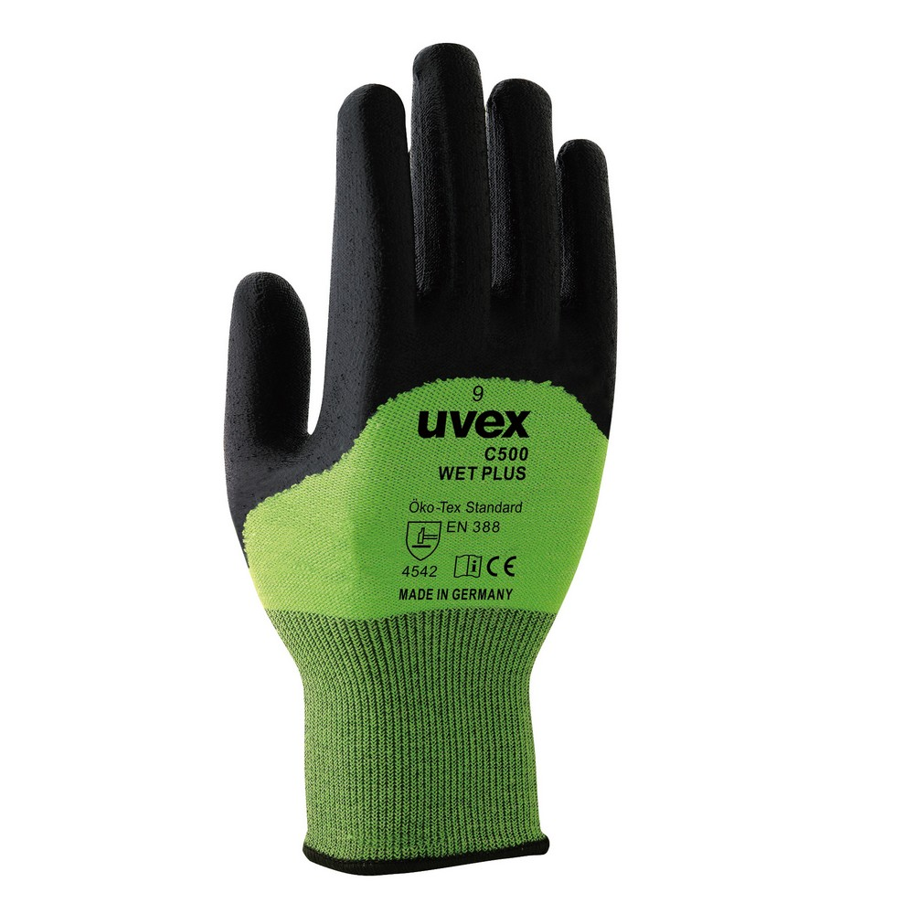 耐切創手袋レベル5 uvex C500wet plus 60496 サイズ7(S)