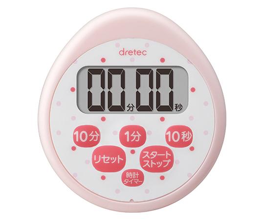 時計付防水タイマー ピンク T-565PK