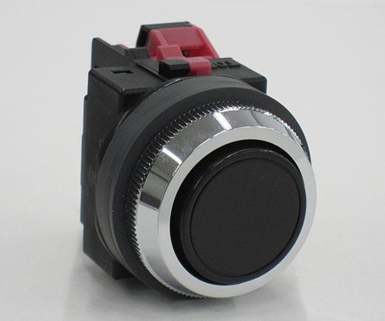平形押ボタンスイッチ 黒 ABN101B