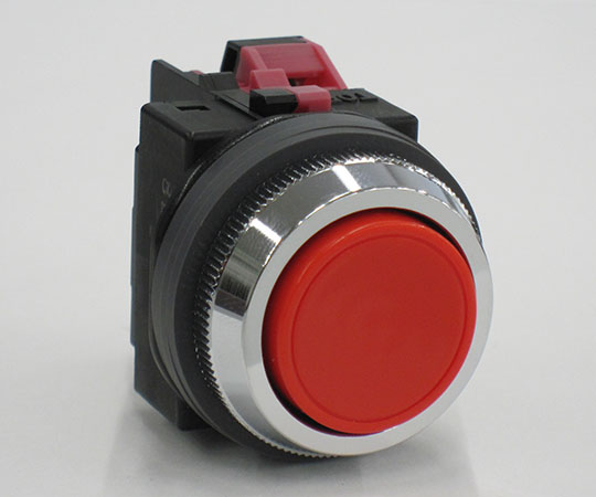平形押ボタンスイッチ 赤 ABN101R
