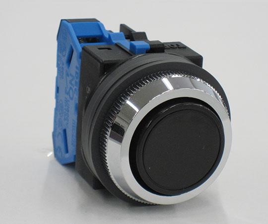 平形押ボタンスイッチ 黒 ABN110B