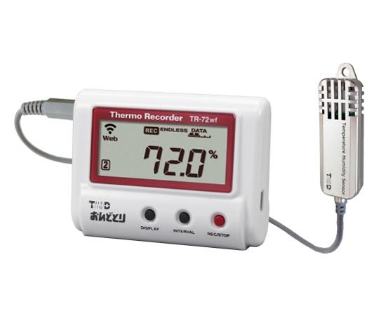 温度湿度データロガー(有線LANタイプ) TR-72NW-S ティアンドデイ
