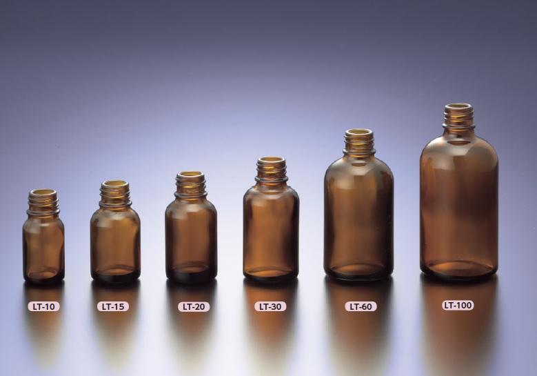 LT細口規格瓶 褐色 LT-10(420本)