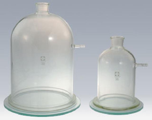 吸引鐘 三角フラスコ 2L用 ガラス板 柴田科学(SIBATA)【Airis1.co.jp】